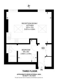 Large floorplan for Uxbridge Road, Shepherd's Bush, W12