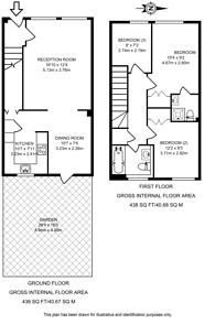 Large floorplan for Helena Square, Rotherhithe, SE16