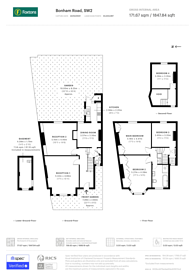 Large floorplan for Bonham Road, Brixton, SW2