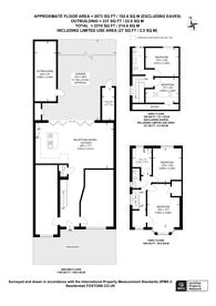 Large floorplan for Sherrick Green Road, Gladstone Park, NW10