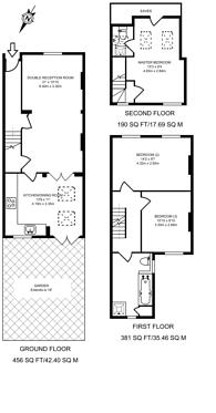 Large floorplan for Holden Street, Shaftesbury Estate, SW11