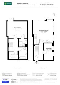 Large floorplan for Welsford Street, Bermondsey, SE1