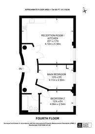 Large floorplan for Tyssen Street, Hackney, E8