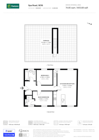 Large floorplan for Spa Road, Bermondsey, SE16