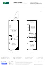 Large floorplan for Carysfort Road, Stoke Newington, N16