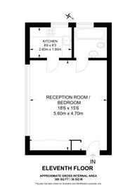 Large floorplan for Hornsey Lane, Highgate, N6