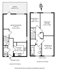 Large floorplan for Taeping Street, Canary Wharf, E14