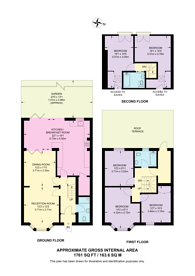 Large floorplan for Tilton Street, Fulham, SW6