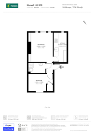 Large floorplan for Muswell Hill, Muswell Hill, N10