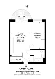 Large floorplan for Kidbrooke Village, Kidbrooke, SE3