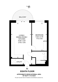 Large floorplan for Kidbrooke Village, Kidbrooke, SE3