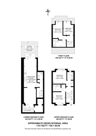 Large floorplan for Frobisher, Crouch End, N8