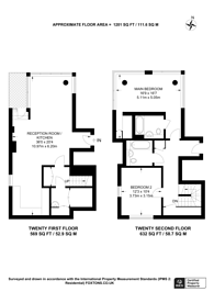 Large floorplan for City North East Tower, City North Place, Finsbury Park, N4