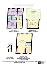 Large floorplan for Grafton Way, Fitzrovia, W1T