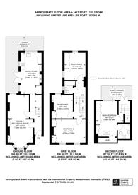 Large floorplan for Burnthwaite Road, Fulham, SW6