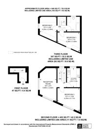 Large floorplan for Eardley Road, Streatham, SW16