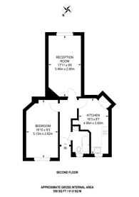 Large floorplan for Grove End House, St John's Wood, NW8