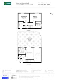 Large floorplan for Robertson Street, Battersea, SW8