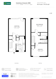 Large floorplan for Canterbury Crescent, Brixton, SW9