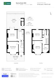 Large floorplan for Baytree Road, Brixton, SW2