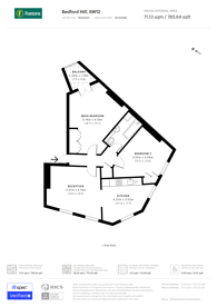 Large floorplan for Bedford Hill, Bedford Hill, SW12