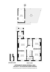 Large floorplan for Lavender Grove, Mitcham, CR4