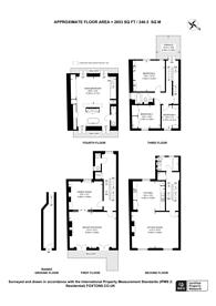 Large floorplan for Ladbroke Road, Notting Hill, W11
