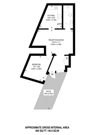 Large floorplan for Orlop Street, Greenwich, SE10