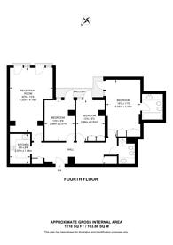 Large floorplan for Dean Ryle Street, Westminster, SW1P