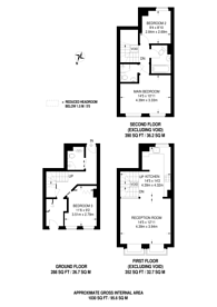 Large floorplan for Rope Street, Rotherhithe, SE16