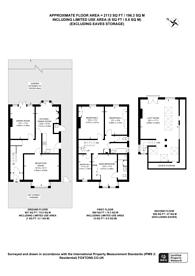 Large floorplan for Park Road, North Kingston, KT2