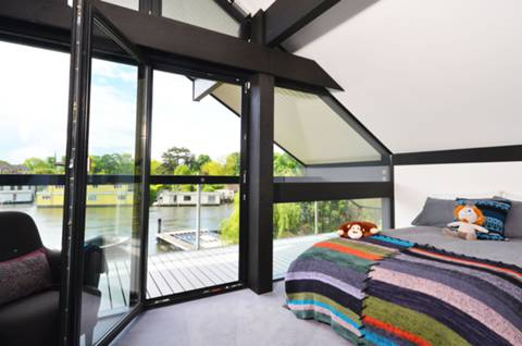 Bedrooms with views