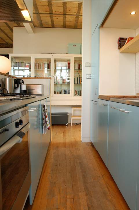 Open-Plan Kitchen in EC1V