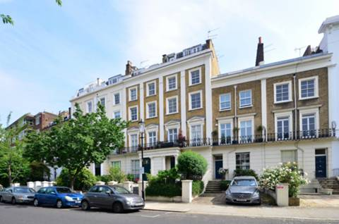 Chepstow Cres, London W11, UK - Source: Foxtons
