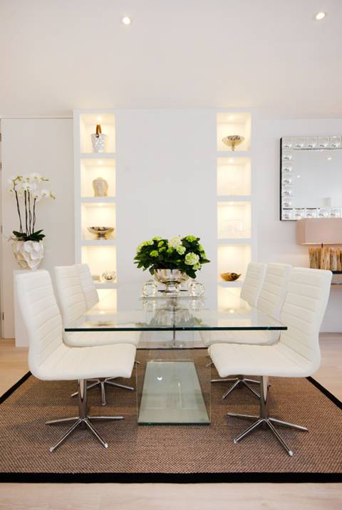 Reception Room/Dining Room in W14