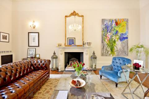 Reception Room in SW7