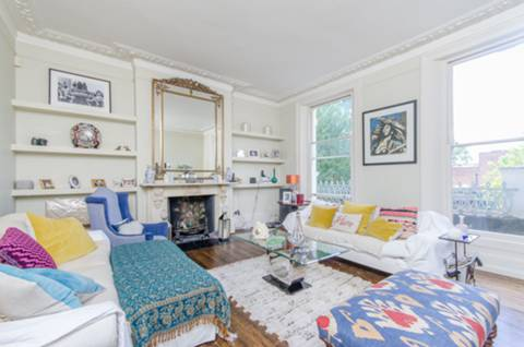 Reception Room in W10