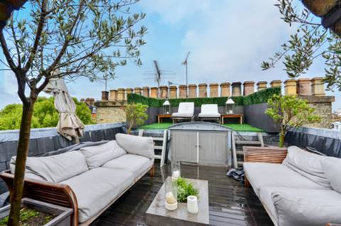 Roof Terrace in SW7