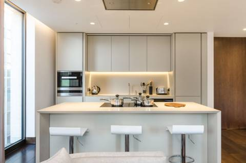 Kitchen in SW1E