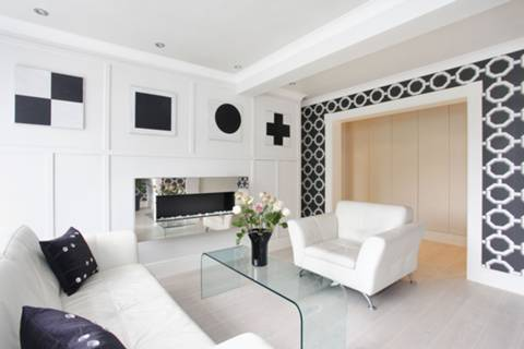 Reception Room in W9