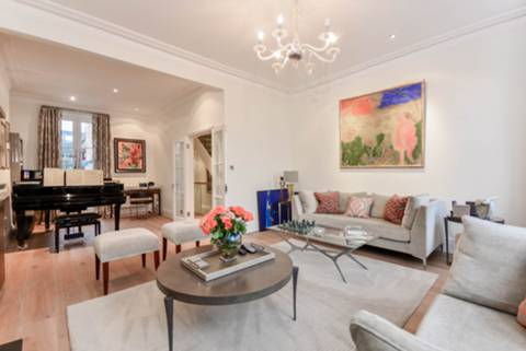 First Reception Room in SW10