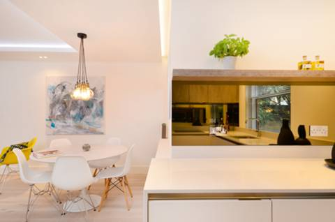 Reception Room/Dining Room in W11
