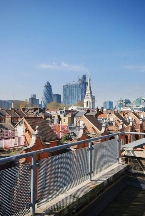 Communal Roof Terrace in E1