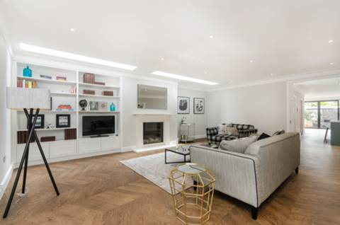 Reception Room in SW6