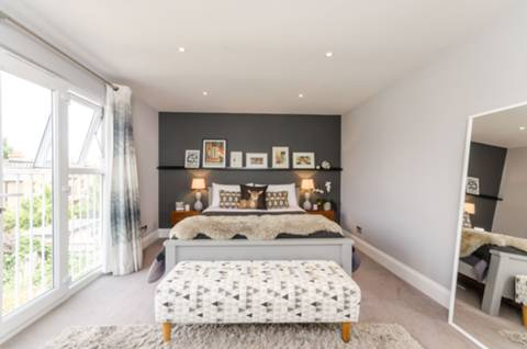 Master Bedroom in W13