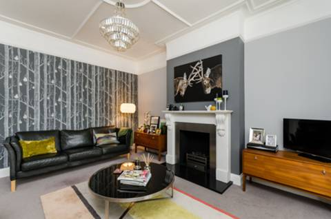 Reception Room in W13