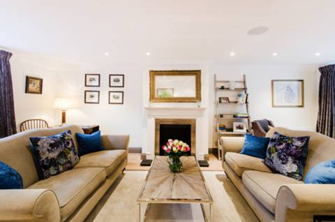 Reception Room in SW10