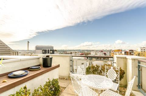 Second Roof Terrace in SE10