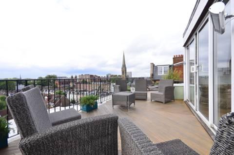 Roof Terrace in W2