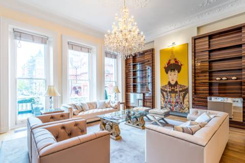 Second Reception Room in SW7